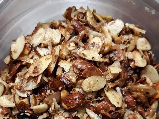keto roasted nuts
